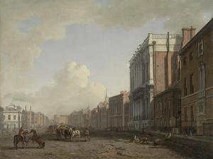 Whitehall, Looking Northeast, C.1775 by William Marlow