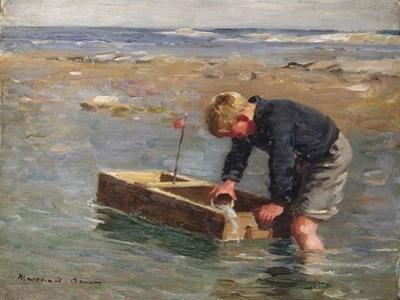 Bailing Out the Boat by William Marshall Brown