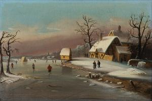 Games on Ice, 1855 by William Matthew Prior