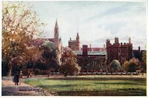 Balliol College, Quad by William Matthison