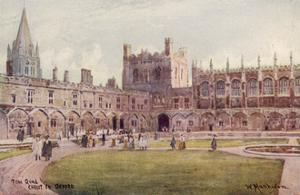 Oxford, Christ Church by William Matthison