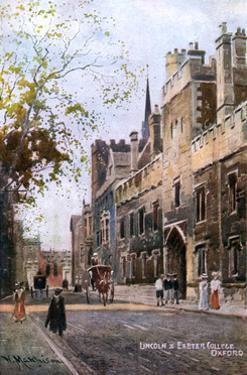Oxford, Lincoln College by William Matthison