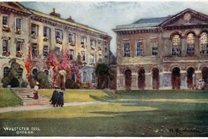 Worcester College by William Matthison