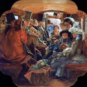 Omnibus Life in London, 1859 by William Maw Egley