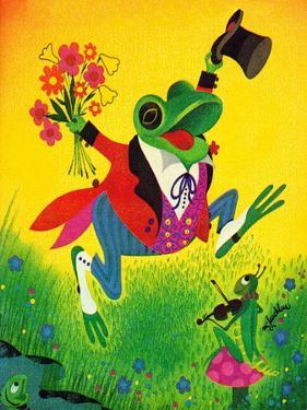 Frog Frolic - Playmate by William McLauchlan