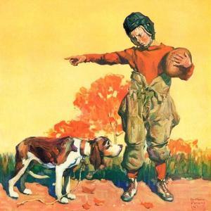 """Go Home, Boy!,""November 1, 1928 by William Meade Prince"