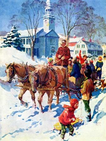 """Sleigh Ride Through Town,""December 1, 1939"