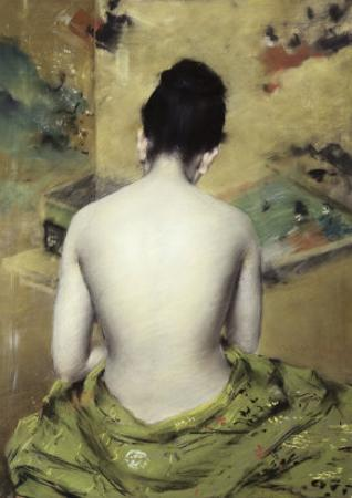 Back of Nude by William Merritt Chase