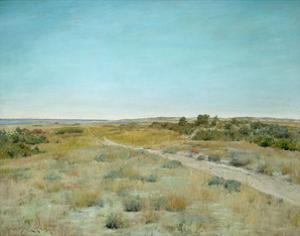 First Touch of Autumn, about 1898 by William Merritt Chase