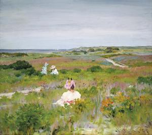 Landscape: Shinnecock, Long Island, c.1896 by William Merritt Chase