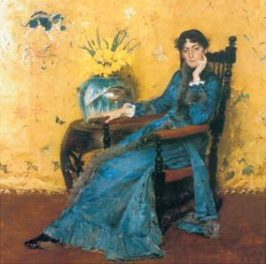 Portrait Of Miss Dora Wheeler by William Merritt Chase