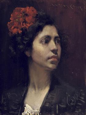 Spanish Girl by William Merritt Chase
