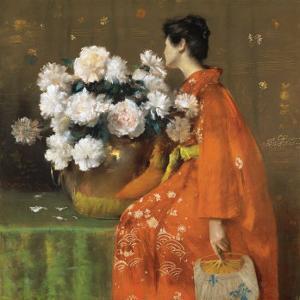 Spring Flowers by William Merritt Chase
