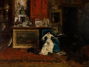 The Tenth Street Studio, 1880 by William Merritt Chase