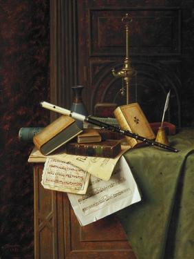 Harnett: Still Life, 1885 by William Michael Harnett
