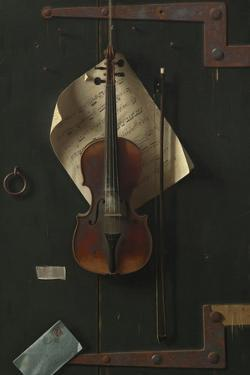 The Old Violin, 1886 by William Michael Harnett
