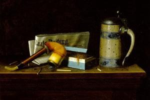 With the 'Staats Zeitung', 1890 by William Michael Harnett