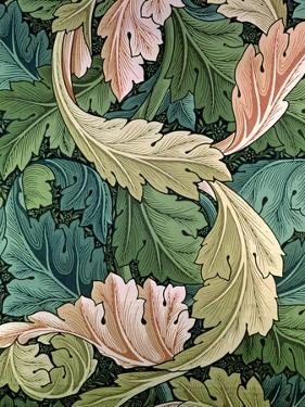 """Acanthus"" Wallpaper Design, 1875 by William Morris"