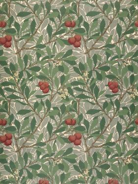 Arbutus Wallpaper Design by William Morris