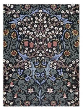 Blackthorn, Wallpaper by William Morris