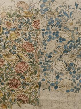 Design for Chintz: Rose by William Morris