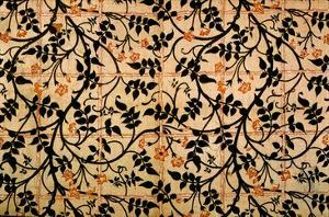 Jasmine Trail Curtain Design, 1868-70 (Printed Cotton) by William Morris