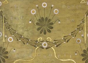 La Margarete, Wallpaper Design by William Morris