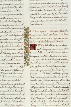 One of Two Fragments from Lancelot Du Lac (Re 223039) by William Morris