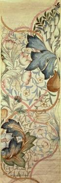 Original Design for the Artichoke Embroidery by Morris, C.1875 by William Morris