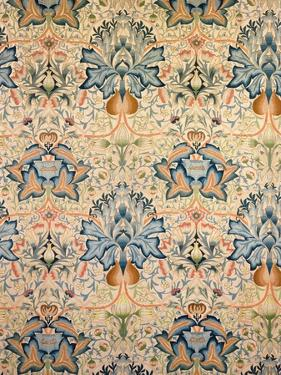 The Artichoke Embroidered Hanging, Worked by Mrs Godman, 1877 by William Morris
