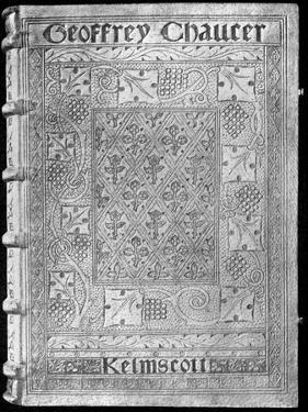The Kelmscott Chaucer, with a Special Binding by William Morris, 1896 by William Morris