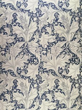 """Wallflower"" Design (Textile) by William Morris"