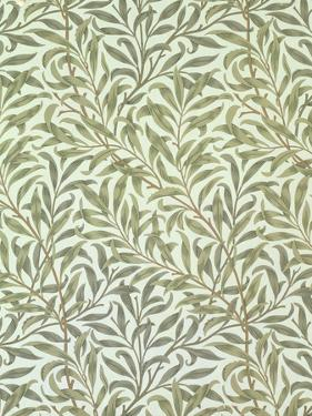 """Willow Bough"" Wallpaper Design, 1887 by William Morris"
