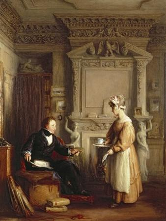 John Sheepshanks and His Maid by William Mulready