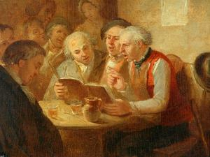 The Rehearsal by William Mulready