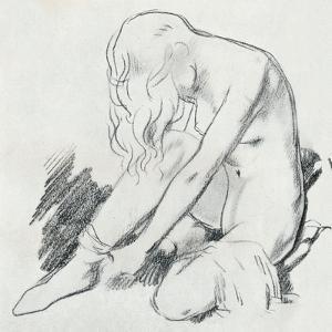 A Figure Study, C20th Century (1932) by William Newenham Montague Orpen