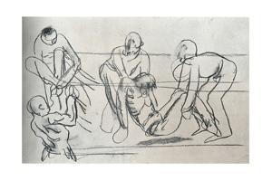 Sketch by Sir William Orpen, C1914 (1932) by William Newenham Montague Orpen