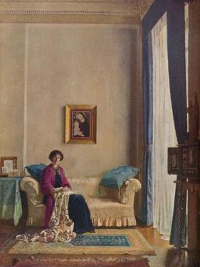 The Countess of Crawford and Balcarres, C1898-1914, (1914) by William Newenham Montague Orpen