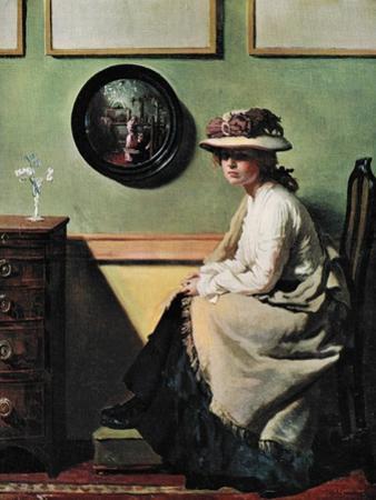 The Mirror, 1900 by William Newenham Montague Orpen
