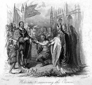 William of Normandy Receives the English Crown