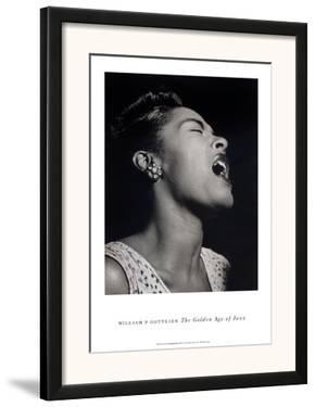 Billie Holiday by William P. Gottlieb