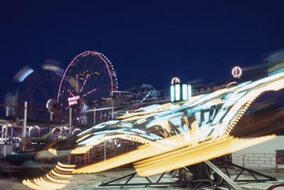 Coney Island at Night by William P. Gottlieb