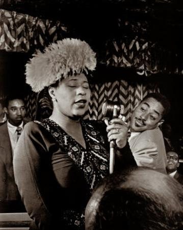 Ella Fitzgerald by William P. Gottlieb