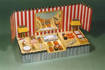Girls' Toy Cosmetics Set by William P. Gottlieb