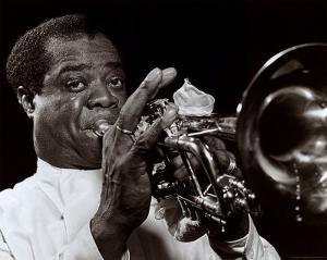 Louis Armstrong by William P. Gottlieb