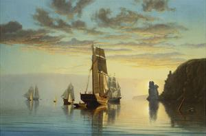 Evening Tide by William Partridge Burpee