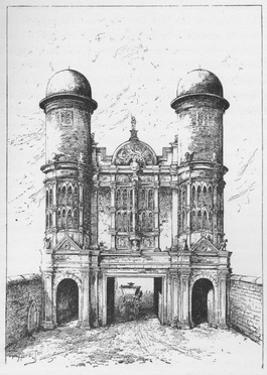 'The King Street Gate, Westminster, Demolished 1723', c1897 by William Patten