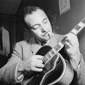Django Reinhardt at the Aquarium in New York City, 1946 by William Paul Gottlieb