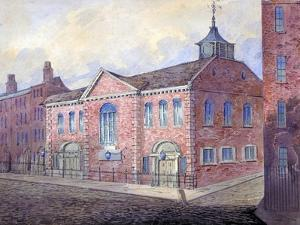 View of the Church of St George the Martyr, Queen Square, Holborn, London, C1815 by William Pearson