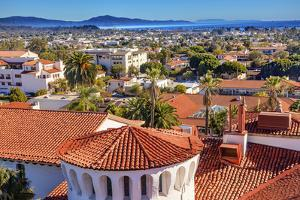 Court House Building Santa Barbara, California by William Perry